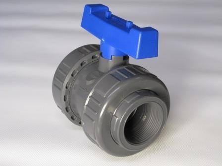 PVC - Kugelhahn 50 mm