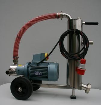 Schlammprofi 12000 400 V mit Steinabscheider