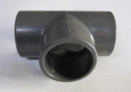 T-Stück 90°, 63 mm, 3 x Klebemuffe