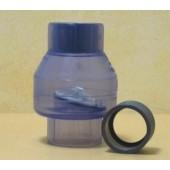 Teich Klappenrückschlagventil 2 x 50 mm