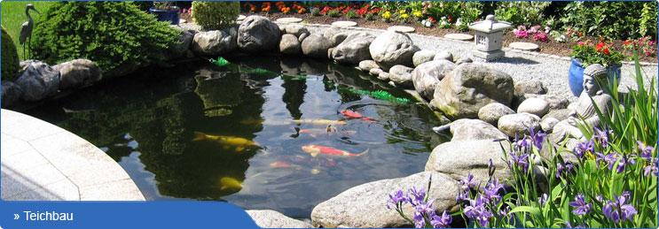Teichfolie und Teichbedarf von Ihrem Teichprofi